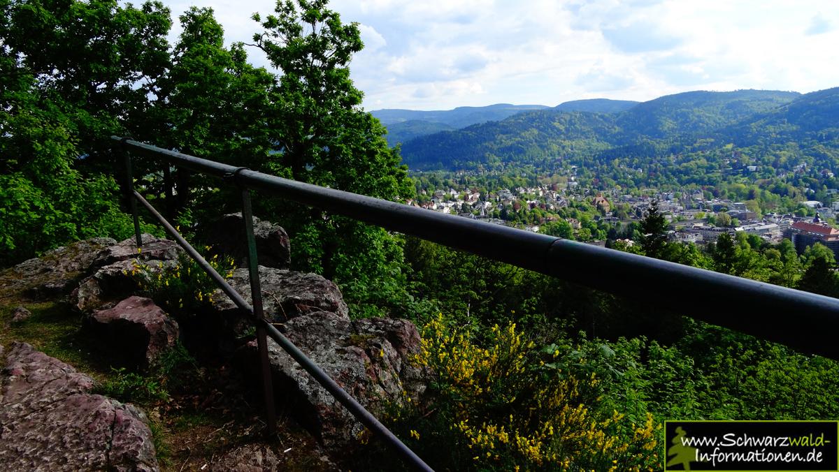 Schwarzwald Panoramaweg Baden-Baden Etappe 1