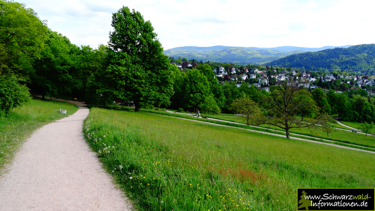 Schwarzwald Bilder Panoramaweg Baden-Baden Etappe 1